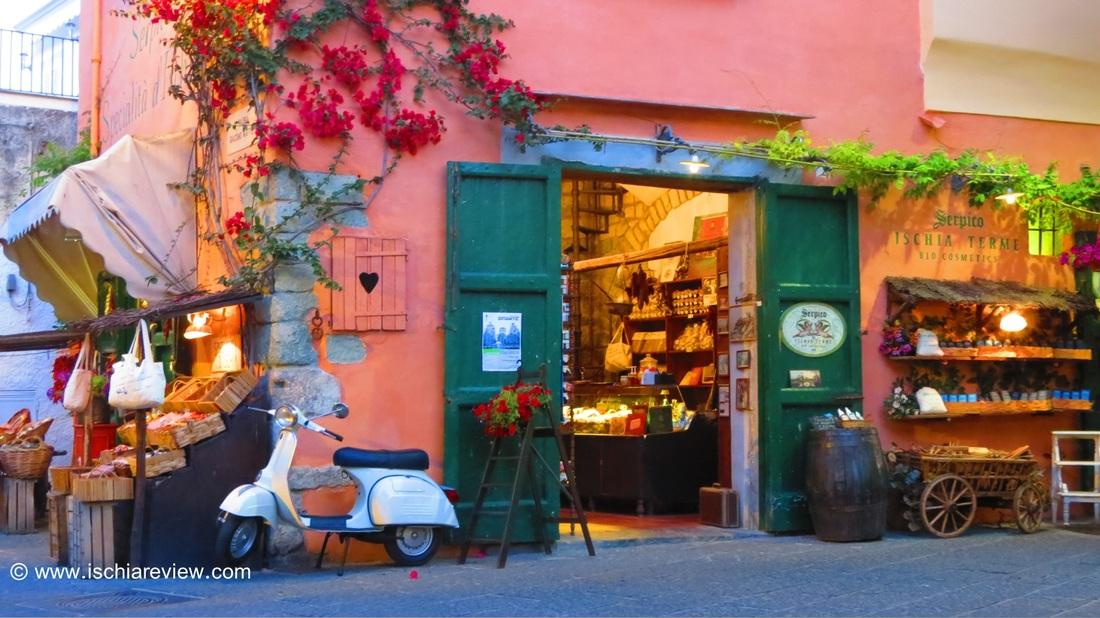Specialist food and drink shops in ischia ischia for Aragonese cuisine